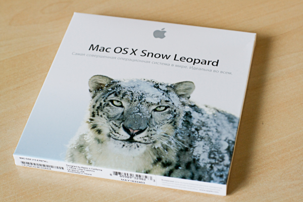 Snow Leopard в России