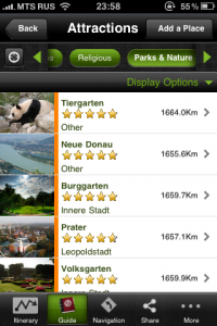 mtrip guide attractions