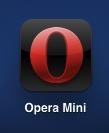 иконка опера мини