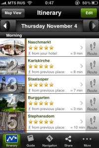mtrip sample itinerary Vienna