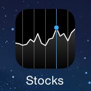 Иконка приложения Акции для айфона