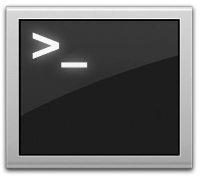 Terminal app icon Mac OS X