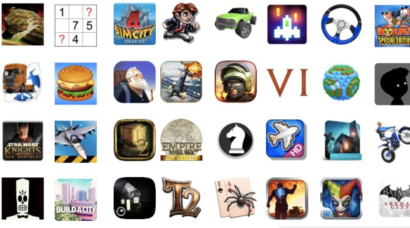 иконки игр mac App Store
