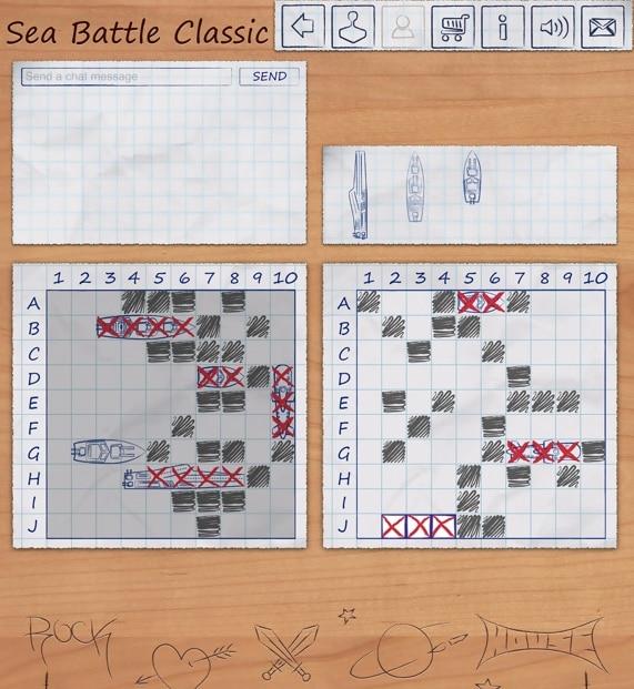 морской бой - игра для айфона и айпада