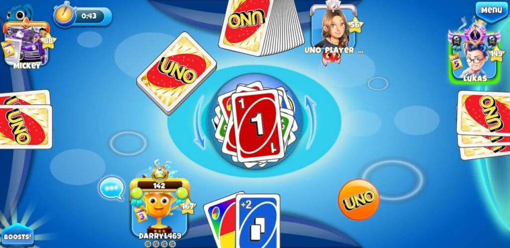 игра для айфона UNO