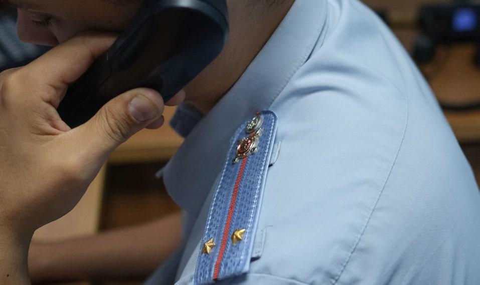 Сообщить в полицию о краже мобильного телефона
